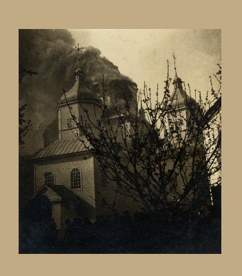 Church on Fire in 1936